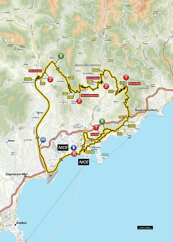 Partita la Parigi Nizza, una classica del ciclismo con arrivo domenica 12 marzo sulla Promenade