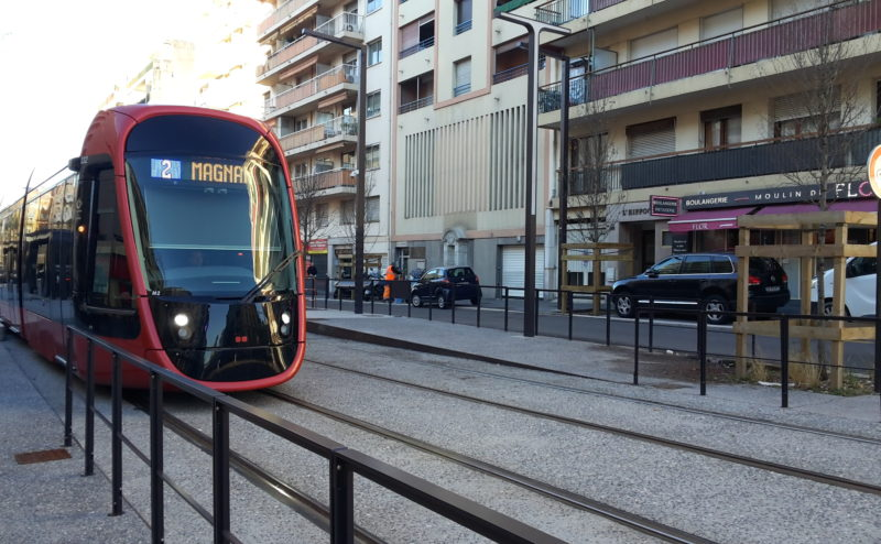 Tram Nice Ligne 2
