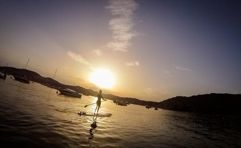 paddle yoga in Costa Azzurra