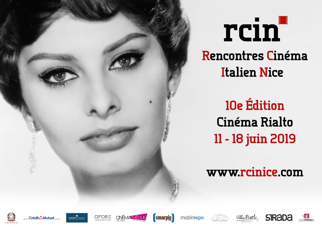 Affiche Rencontres Cinéma Italien Nice