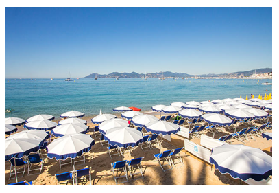 Spiagge a Cannes, un'offerta turistica accessibile
