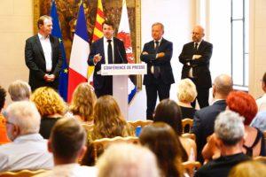 Presentazione del bilancio turismo a Nizza 2019