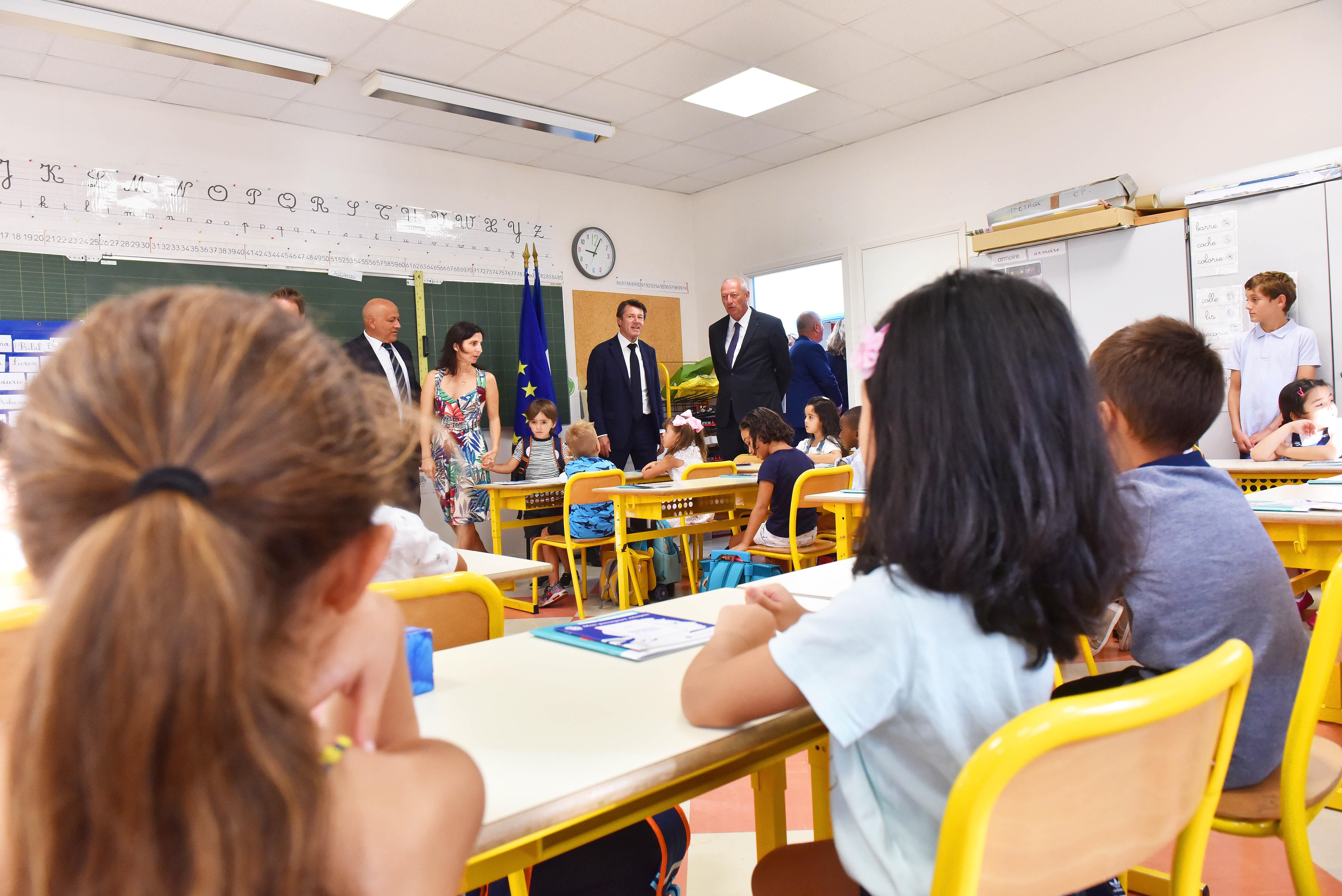 Rentrée scolaire école Ronchèse