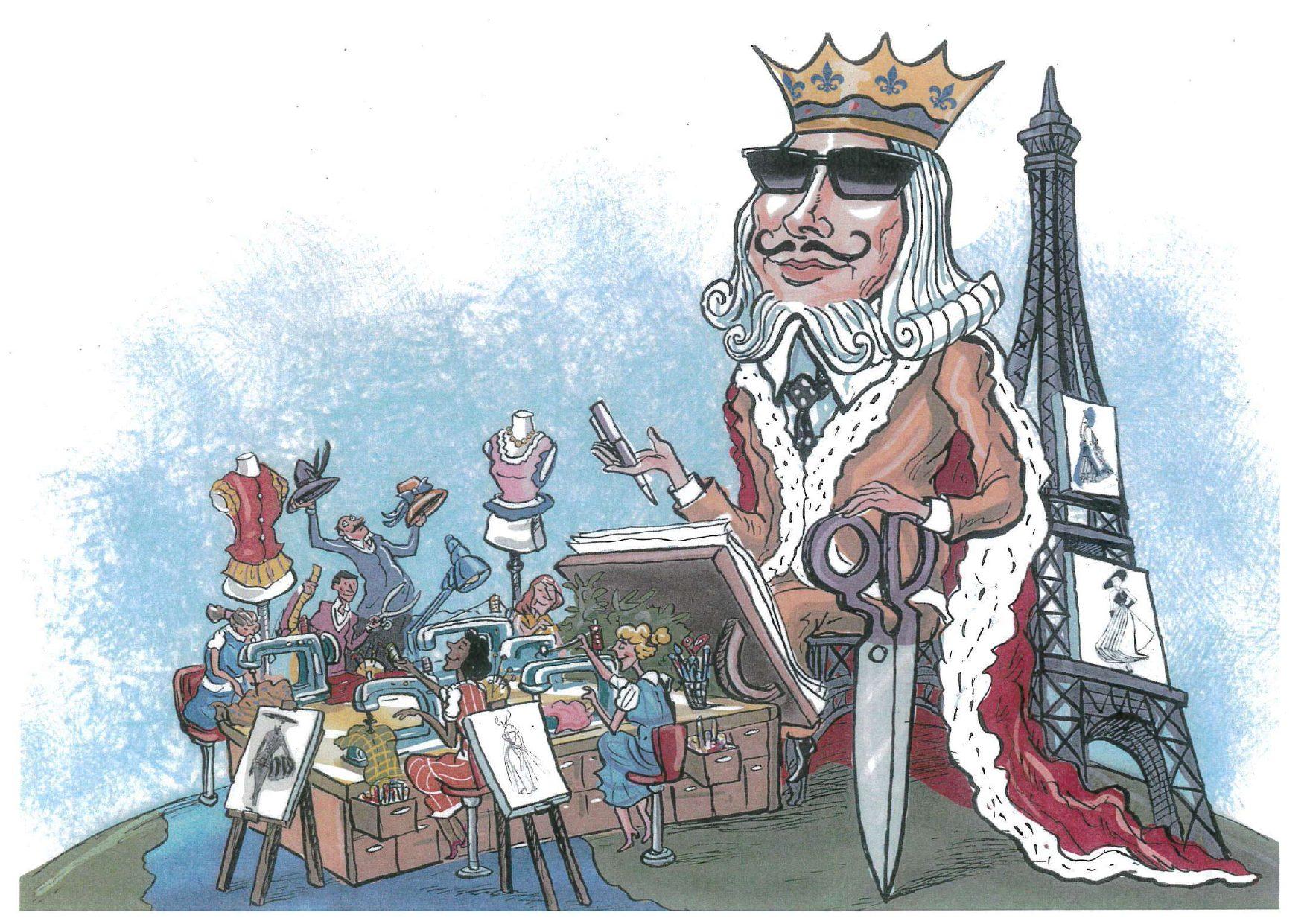 Roi de la Mode il bozzetto