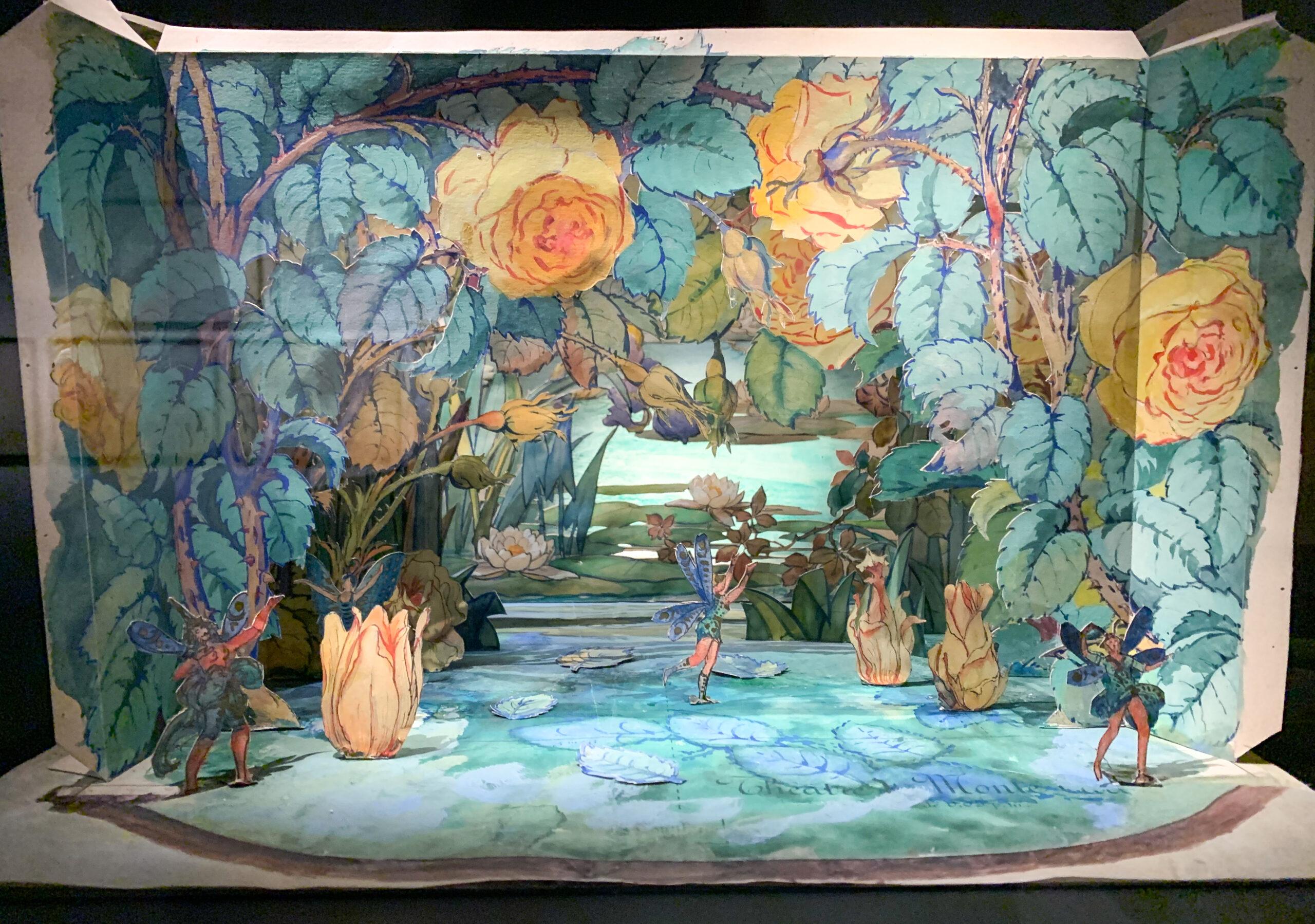 Eugène Frey un bozzetto in mostra a Villa Paloma (ph. Antonella Fava)