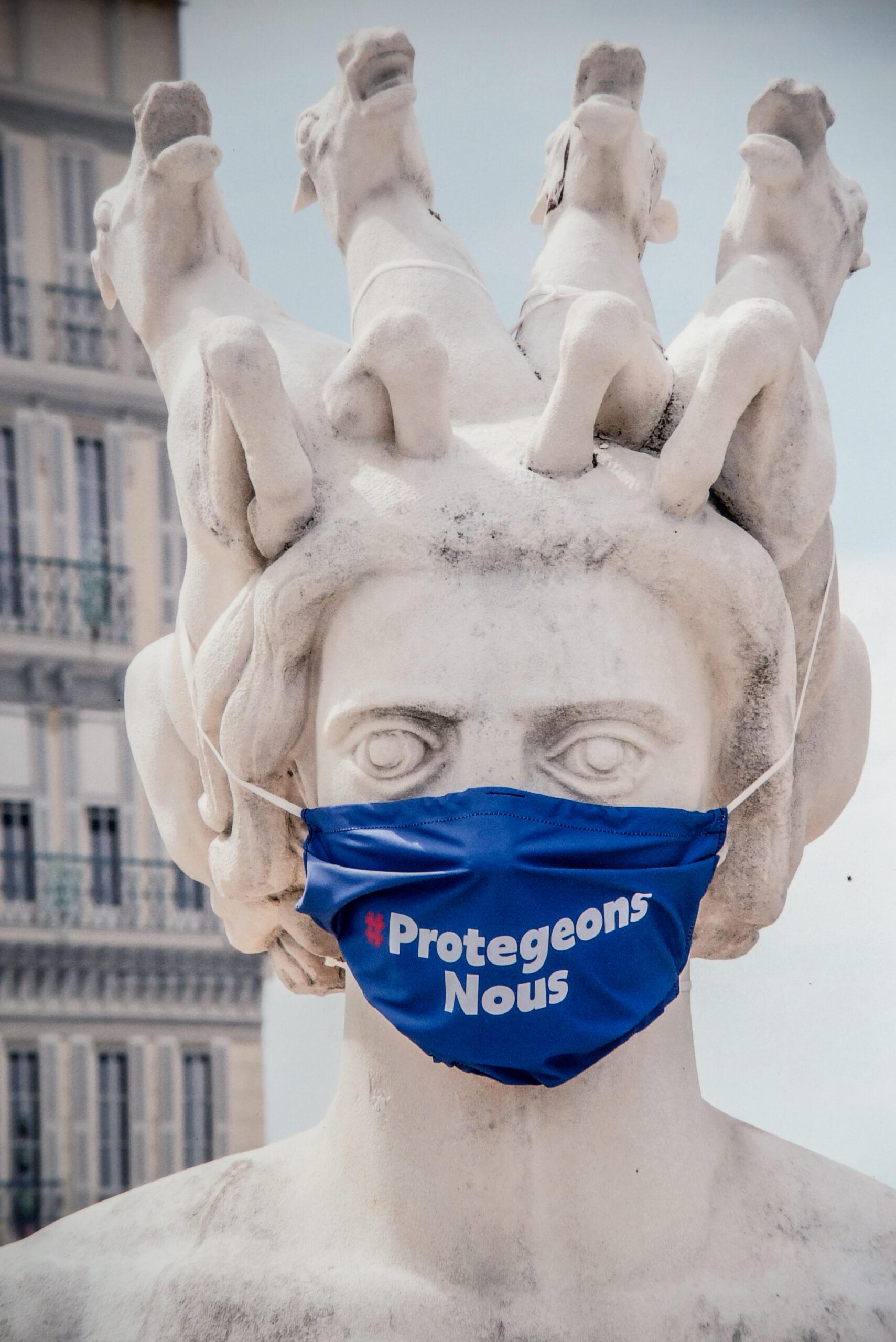 Stop alle mascherine in Costa Azzurra