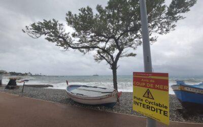 Tempesta Alex, salva la Costa Azzurra danni nell'entroterra