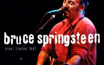 Bruce Springsteen a Nizza in un nuovo disco