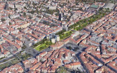 Promenade du Paillon scenari futuri
