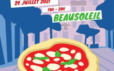 Il festival della pizza in Costa Azzurra