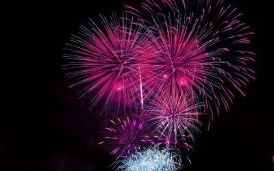 Fuochi d'artificio ad Antibes, strade chiuse